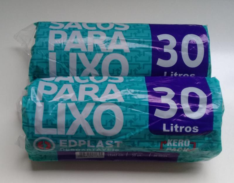 ROLAO LIXO EDPLAST 30 LTS  C/50 UN