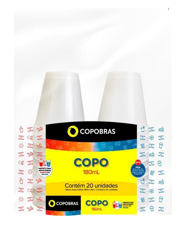 SMCCT COPO TERM. COPOBRAS 180 ML 15x20 CX/300 UN