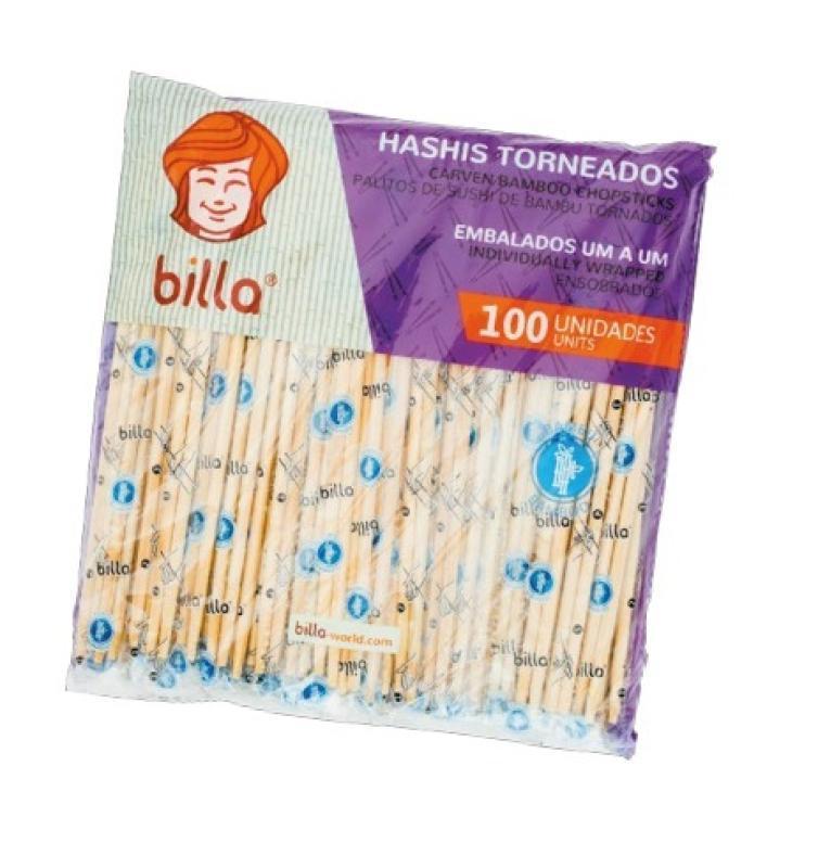 PALITO BAMBU TORNEADO BILLA POTE CX 20 X 100 UN