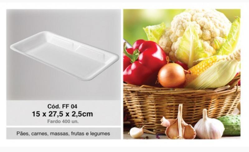 FF-04 BANDEJA ISOP. FIBRAFORM FD/400 UN 15X27,5X2,5 CM