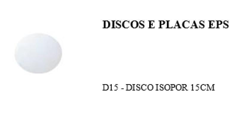 D-15 DISCO ISOP. FIBRAFORM 15 CM FD/400 UN