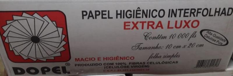 PAPEL HIG DOPEL CAI-CAI  CELULOSE VIRGEM CX10000 FLS