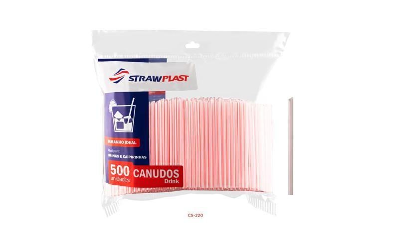 CANUDO P/DRINK CS-220 C/500 UN