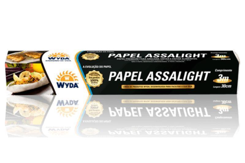 PAPEL ASSA LIGHT WYDA 30 CM CX C/20 UN