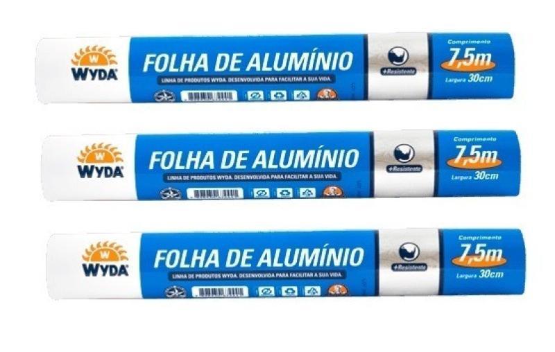 ROLO ALUMINIO WYDA 45 X 7,5 CX 12 UN