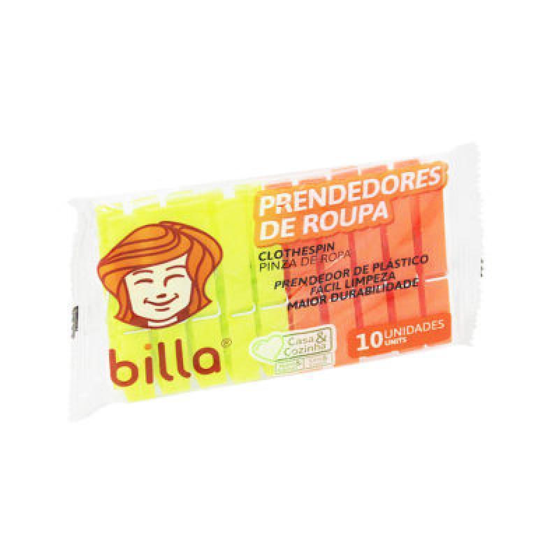 PRENDEDOR ROUPA PLASTICO PEQUENO C/10 UN(9489)