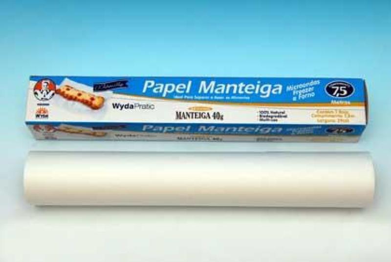 PAPEL MANTEIGA WYDA CX 25 UN 7,5 X 29 CM
