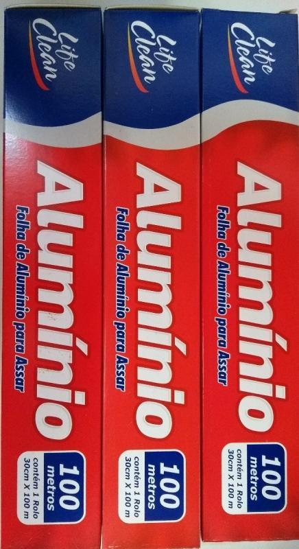 ROLO ALUMINIO LIFE CLEAN 30 X100 MTS