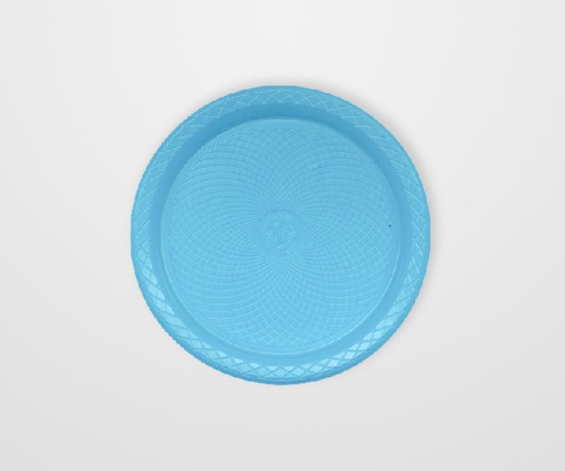 FORFEST-PRAC15 PRATO PLAST AZUL CLARO 15CM 50X10