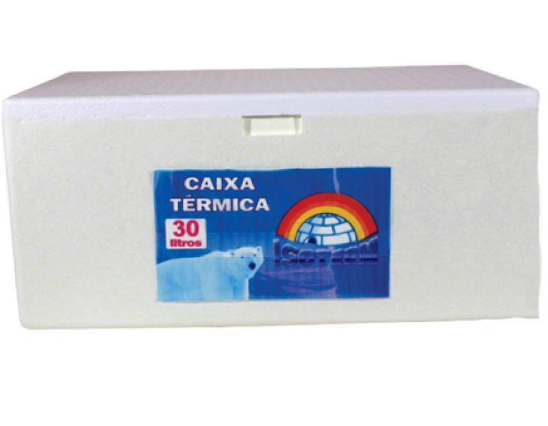 CAIXA TERMICA ISOTERM 30 LTS 570 X 370 X 260 MM