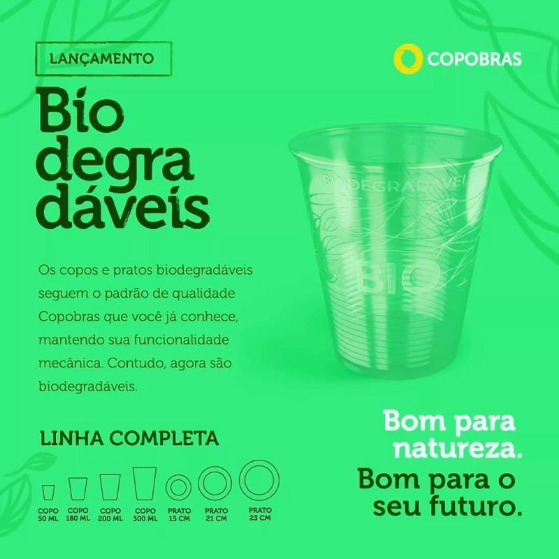 COPO BIODEGRADAVEL COPOBRAS CFB-050 C/100 UN